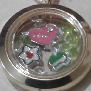 "Jewelry - NEW ""Girlscouts"" Memory Locket Necklace"